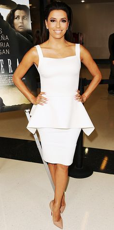 Look of the Day - August 24, 2014 - Eva Longoria in Lenny Niemeyer and Barbara Bui from #InStyle