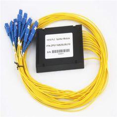 1 to 16 singlemode ABS Module PLC Fiber Optic Splitter