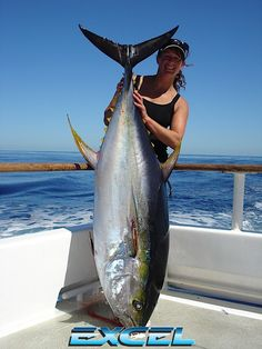 The number one resource for Fishing gear and information Bikini Fishing, Tuna Fishing, Best Fishing, Fishing Stuff, Fishing Girls, Women Fishing, Salt Water Fish, Deep Sea Fishing, Red Fish