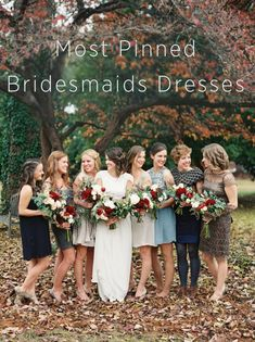 Looking for some inspiration for elegant bridesmaid dresses? Click here to look at our most pinned bridesmaids dresses to get started! #oncewed #bridesmaiddress #bridesmaidinspiration