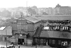 S-Bahnhof Berlin-Charlottenburg in den 20ern