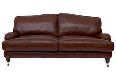 Lynden Leather Sofa