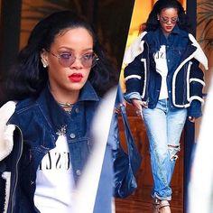 Riri leaving her hotel In Paris Rihanna Fenty, Paris Hotels, Classic, T Shirt, Tops, Women, Fashion, Derby, Supreme T Shirt