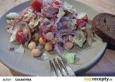 Cizrnový salát s tuňákem Potato Salad, Potatoes, Meat, Breakfast, Ethnic Recipes, Food, Morning Coffee, Potato, Essen