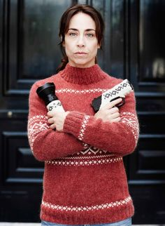 Sarah Lund in Forbrydelsen; brilliant thriller and Danish humour! Such a disapointment there is never going to be a fourth series. I really hope someday the writer and Sofie Grabol will change their minds.
