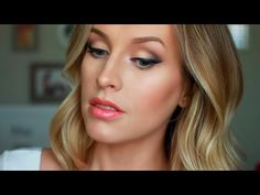 Lancôme Full Face One Brand - Smokey Cat Eye with Coral Accents - YouTube