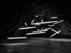 Neon lights Art installation by Emanuele Dal Carlo, via 500px