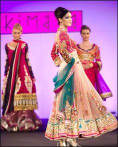 Gorgeous #Anarkali #Dress by http://www.kimaya.in/ >>