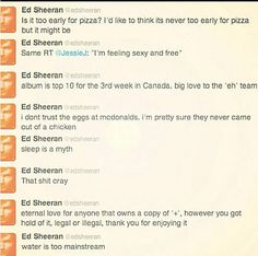 He is just brilliant. The Canada one killed me.