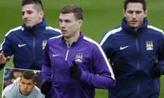 City need the old Dzeko back against Roma with Aguero out #DailyMail