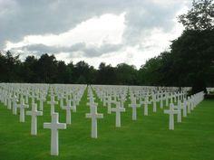 American Cemetery - Normandy France