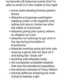 Mostly Lafayette. Sounds about right.