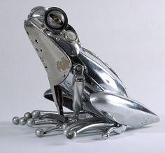 amazing metallic animals #art #animals