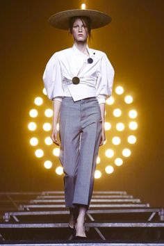 Jacquemus Fashion Show Ready to Wear Collection Spring Summer 2017 in Paris