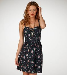 I just bought this dress yesterday! Its cute and comfortable and has that earthy summer feel I love