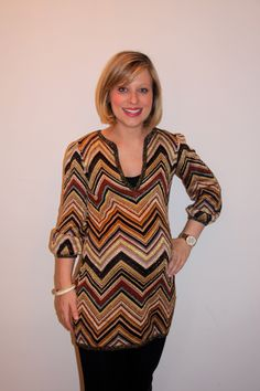 Mom Trends: Not everyone wants to spend a pretty penny on stylish looking #maternity clothes. It's hard to find the benefit when you will only be wearing the clothes for a limited amount of time. (Pictured: Missoni maternity top) @Nicole Feliciano