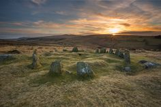 Nine maidens Belstone Dartmoor.  by Anna Curnow on 500px