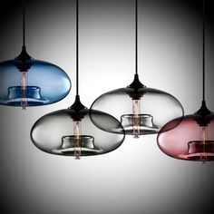 Neat Designer Pendant Lighting. This page, homeadore.com, has a lot of ideas, some over the top