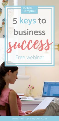 discover the 5 secrets to business success in this new free Masterclass. You'll learn How to make decisions with confidence How to find your first clients How to stay focused and productive. Creating A Business, Growing Your Business, Starting A Business, Business Planning, Business Tips, Online Business, Business Management, Business Articles, Successful Business