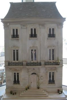 source: Une Petite Folie ~ the most beautiful dollhouse I've ever seen!