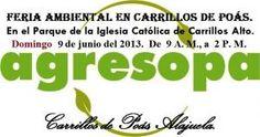 Feria Ambiental de AGRESOPA...  http://desktopcostarica.com/eventos/2013/feria-ambiental-de-agresopa
