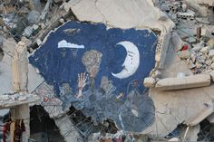 Painting the democratic uprising in Daraya - Abu Malek al-Shami