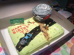 Tornado Birthday cake