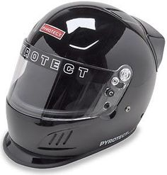 Pro Airflow SA2010 Series Full Face Duckbill Black Motorcycle Helmet #PyrotectHelmets