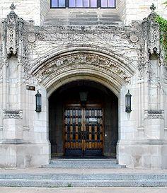 9 x 18 Inch Collegiate Scenes Northwestern University