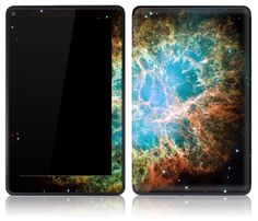 Amazon Kindle Fire Skin Cover - Nebula. $14.95, via Etsy.