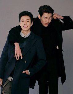 Lee Hyun Woo and Kim Woo Bin for M Magazine