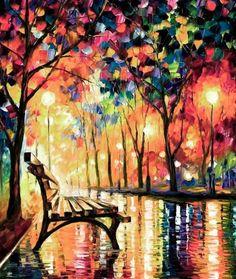 Materiaal; doek/papier, verf en kwasten. Techniek; schilderen. Zelf vind ik dit een heel mooi schilderij, omdat het mooie heldere kleuren heeft en de schilder met licht gespeeld heeft.