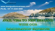 Moving to New Zealand? Avail visa to New Zealand with our Immigration experts!