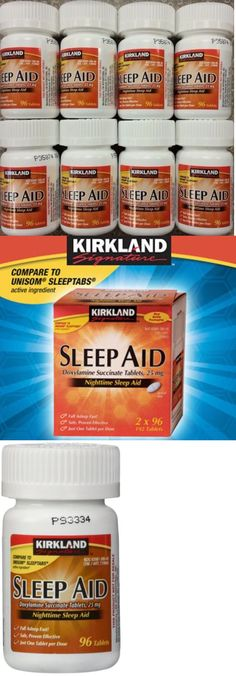 Other Sleeping Aids: Kirkland Sleep Aid Doxylamine Succinate 25 Mg 768 Tablets Sleeping Pills Generic -> BUY IT NOW ONLY: $45.99 on eBay!
