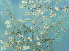 Vincent Van Gogh >> Branches with Almond Blossom. my favorite van gogh painting Theo Van Gogh, Van Gogh Pinturas, Vincent Van Gogh, Van Gogh Museum, Flores Van Gogh, Van Gogh Tapete, Van Gogh Wallpaper, Wallpaper Murals, Chinoiserie Wallpaper