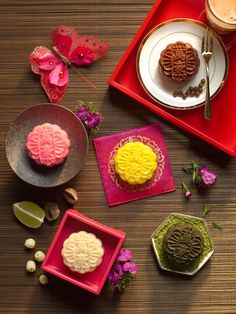 Marriott snow skin mooncake