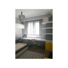 Σύνθεση παιδικού δωματίου που αποτελείται από ανοιγόμενη ντουλάπα με πλαινά ράφια και