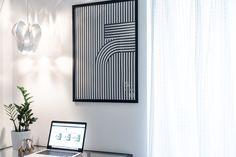 angolo studio nordico finalndia artek fritz hansen blossom be&liv Workspace Design, Fritz Hansen, Pendant Lamp, Table Lamp, Interior Design, Studio, Wall, Posts, Furniture