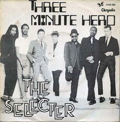 "The Selecter - Three Minute Hero [1980, Chrysalis 6155 282 │Portugal] - 7""/45 vinyl record [SKA]"