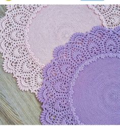 El isi Crochet Placemats, Crochet Doilies, Annie's Crochet, Crochet Patterns, Crochet Kitchen, Knitted Bags, Fashion Books, Crochet Necklace, Fancy