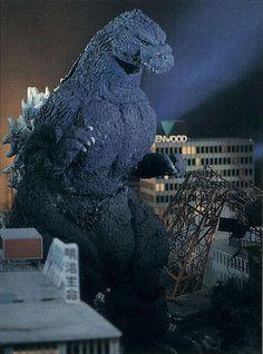 Godzilla marches. Godzilla Vs. King Ghidorah.