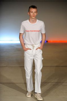 Spring 2015 Menswear  Gosha Rubchinskiy