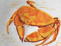 Wet Canvas 4 color reduction print, step by step. Kids Printmaking, Arts Ed, Art Sites, Illustration Sketches, Fish Art, Linocut Prints, Teaching Art, Art Tutorials, Art Lessons
