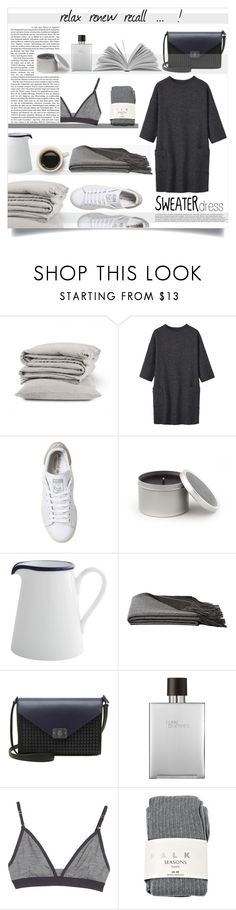 """""""sweater dress"""" by sophie-martina ❤ liked on Polyvore featuring Toast, adidas, Archipelago Botanicals, Fairmont & Main, a&R, Mulberry, Hermès, Icebreaker and Falke"""