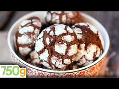 Chocolate Brownie Cookies Recipe - I used cocoa powder and baked for about 8 minutes Chocolate Brownie Cookie Recipe, Chocolate Cookies, Cookie Desserts, Cookie Recipes, Dessert Recipes, Red Velvet Crinkle Cookies, Chocolate Crinkles, Cookies Et Biscuits, Oatmeal Biscuits