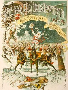 St. Paul Winter Carnival, 1888. From St. Paul Dispatch Carnival Edition