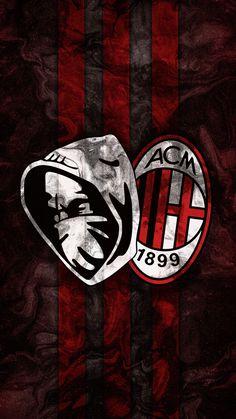 Milan Wallpaper, Milan Football, Football Wallpaper, Ac Milan, Scorpion, Art Logo, Soccer, Italy, Wallpapers