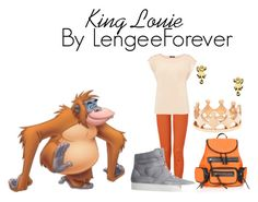 """""""King Louie"""" by niley12345 ❤ liked on Polyvore featuring King Louie, True Religion, Oasis, Blu Bijoux, Ariane Arazi, Maison Margiela, Topshop, high-top sneakers, red flower rose and princess"""