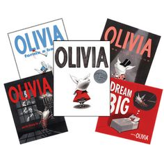 Olivia is one of the greatest pigs of our time.  She is one of my heroines!