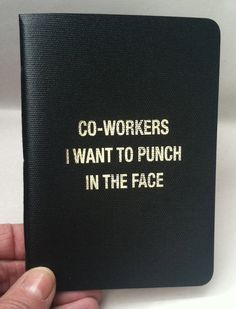 Co-workers I want to punch in the face-The handmade original